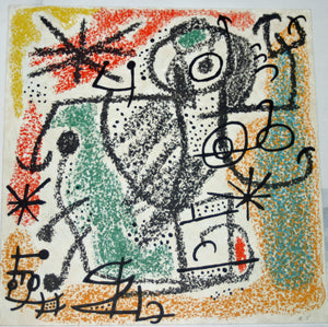Joan Miro - Essencies de la tierra - 1968 - M506