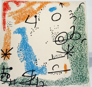 Joan Miro - Essencies de la tierra - 1968 - M510