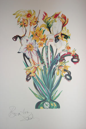 Salvador Dali Daffodils of Love (surrealistic flowers)