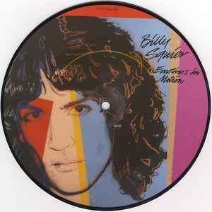 Andy Warhol - Billy Squier - Emotions in Motions - Picture disk - 1982