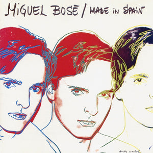 Andy Warhol - Miguel Bose - Made in Spain - 1982 - Original Spanish Pressing