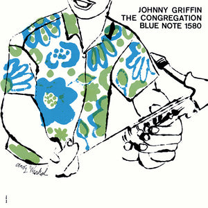 Andy Warhol - Johnny Griffin - The congregation -1958 (1984 reissue) - Original French pressing