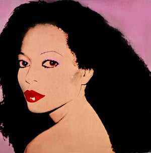 Andy Warhol - Diana Ross - Silk Electric - 1982