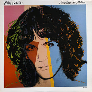 Andy Warhol - Billy Squier - Emotions in Motions - Original US pressing - 1982