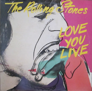 Andy Warhol - The rolling stones - Love you Live - Original UK pressing - 1977