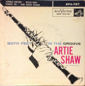 Andy Warhol - Artie Shaw and His Orchestra - Both feet in the groove - Rare EP - Original Canadian Pressing - 1956