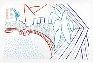 David Hockney - Untitled, from Eight by Eight to Celebrate the Temporary Contemporary