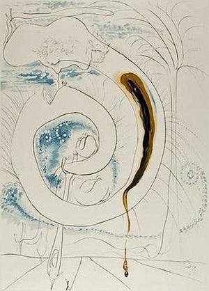 Salvador Dali - The visceral circle of the cosmos