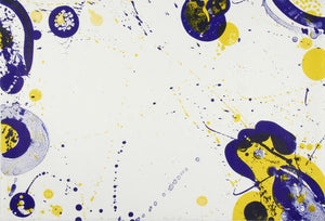 Sam Francis Untitled (1964) L66 from the Pasadena Box