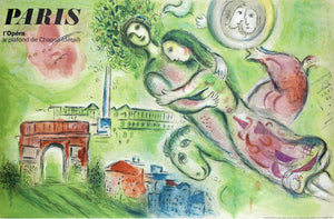 Marc Chagall (After) - Paris l'Opéra