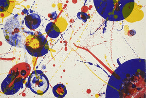 Sam Francis An 8 by 7 from the Pasadena Box