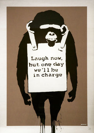 Banksy - Laugh Now - 2003