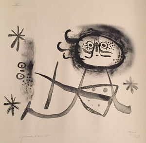 JOAN MIRO - ALBUM 13 (ONE PLATE) - M 83 - 1948