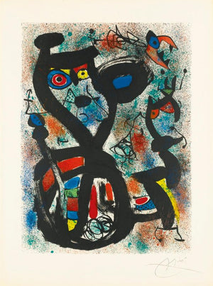 Miro - The Cat - 3rd and final state - Mourlot 636