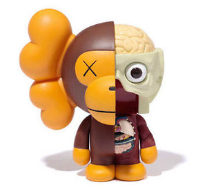 Kaws - Milo Dissected Brown - 2011