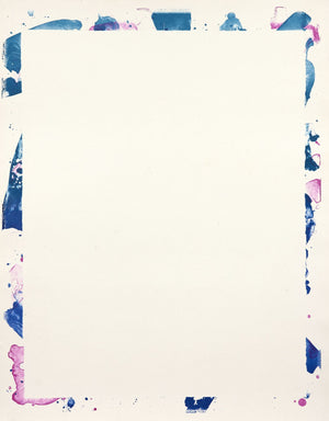 Sam Francis - Untitled - SF109 - Unique Proof