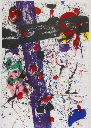 Sam Francis - Untitled, from Eight by Eight to Celebrate the Temporary Contemporary