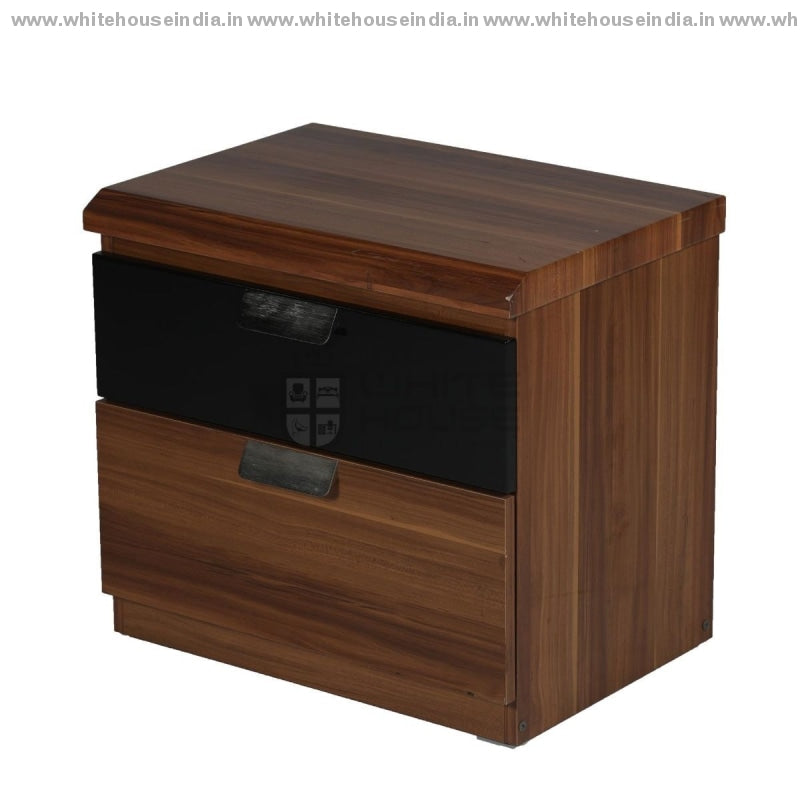 10E001 Side Table Width=21 Height=19 Depth=15 Inc. / Black Material Mdf With Deco Paint High Glosy