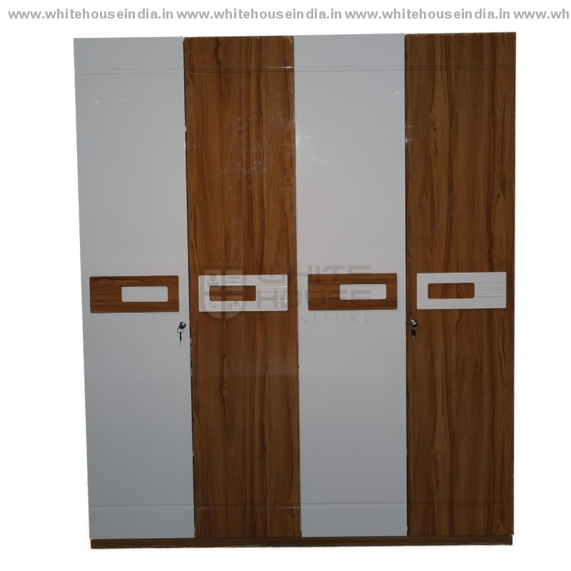 11E001 Wardrobe 4 Door Cupboard