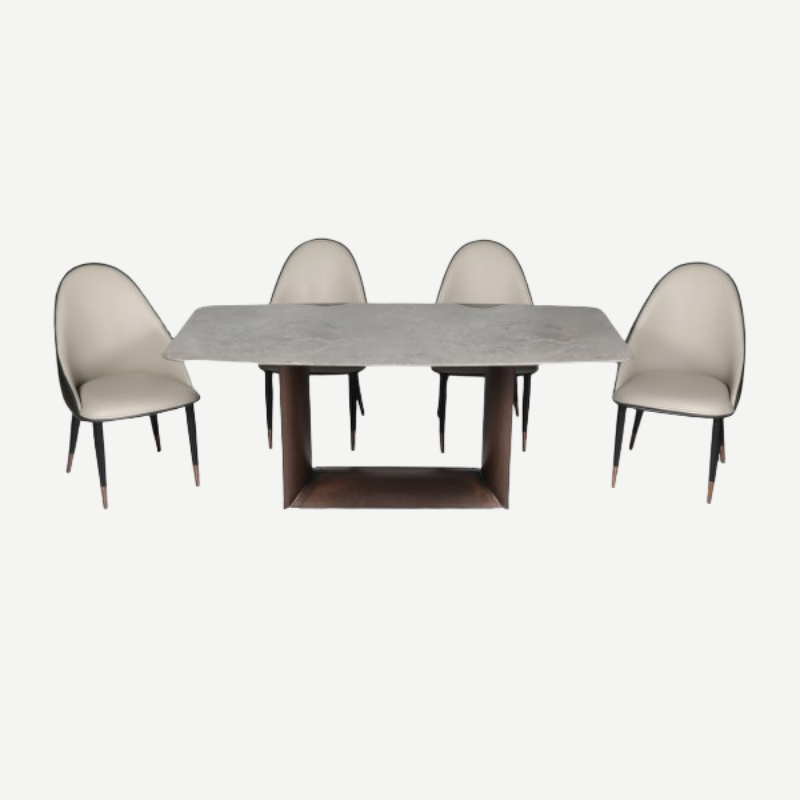 T-1982/b465 Dining Table Set 1+6 Tables