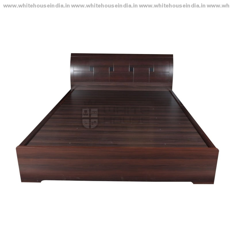 9806 Bed 1.8M King Size Mattress = 71*79 Inc. / Brown Material Mdf With Peper Laminate Beds