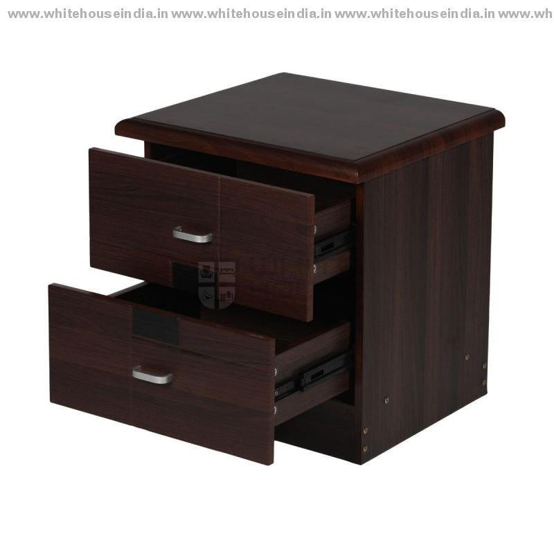 9806 Side Table Width=20 Height=21 Depth=18 Inc. / Brown Material Mdf With Peper Laminate Side