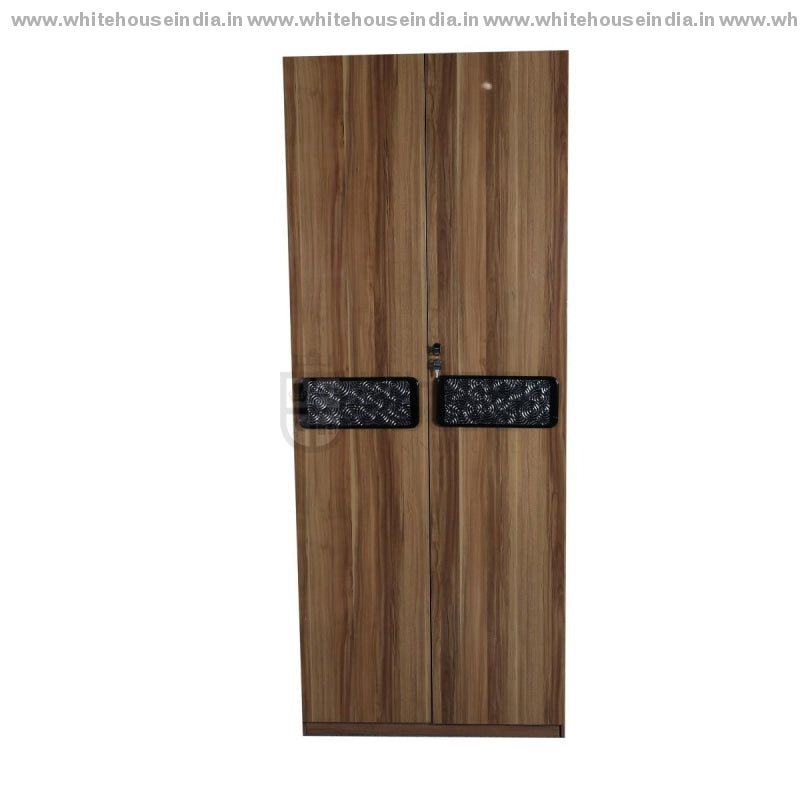 A8201 Wardrobe 2 Door Width=32 Height=79 Depth=23 Inc. / #c19A6B Material Mdf With Deco Paint High