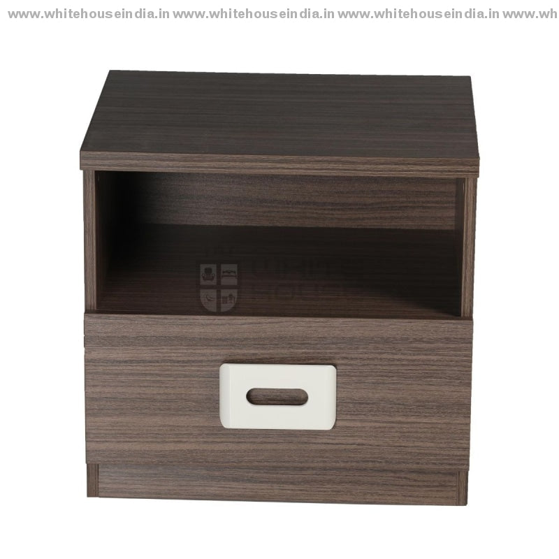 Bs-181C Side Table Width=20 Height=19 Depth=16 Inc. / #7D161A Material Mdf With Deco Paint &