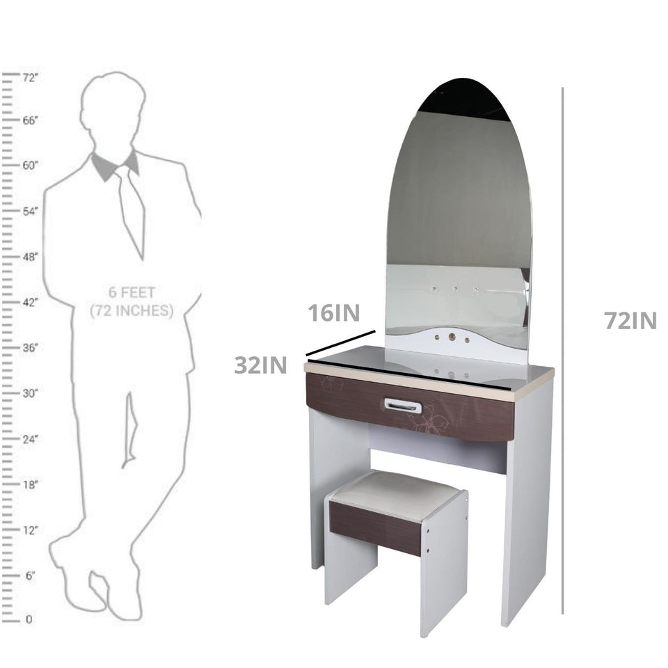 9F-001 DRESSING TABLE