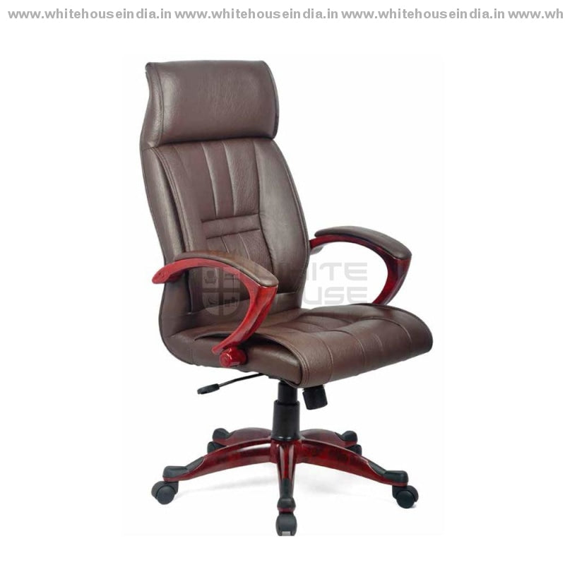 Elegant Brown Office Chair High Back Director Chairs