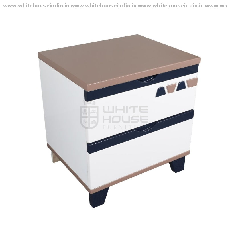S01 Side Table Width=19 Height=20 Depth=15 Inc. / Off White Material Mdf With Deco Paint Side Tables