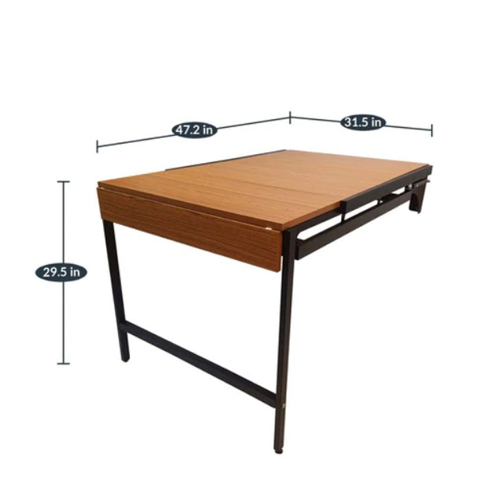 Multipurpose Wall Mounted Table Space Saving
