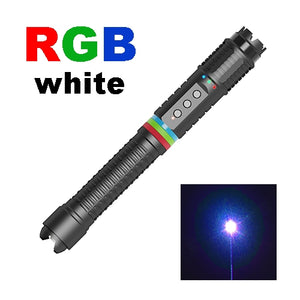 RGB 7 Colors White Laser Pointer