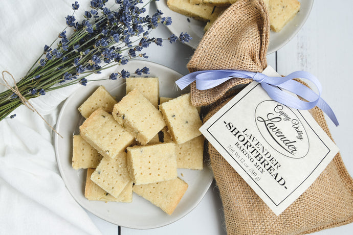 LAVENDER SHORTBREAD BAKING MIX