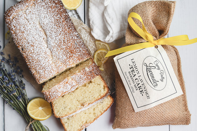 LEMON LAVENDER TEA CAKE BAKING MIX