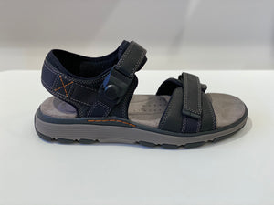Clarks Herresandal Un Trek Part Black