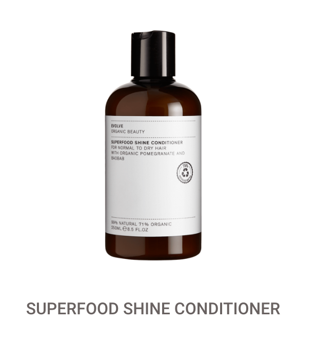 Evolve Superfood Shine Conditioner