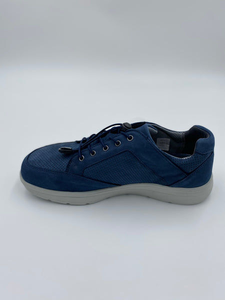 new feet herresko m/elastiksnøre blue