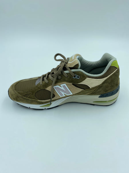 New Balance Sneaker Model 991 Men Brun Multi