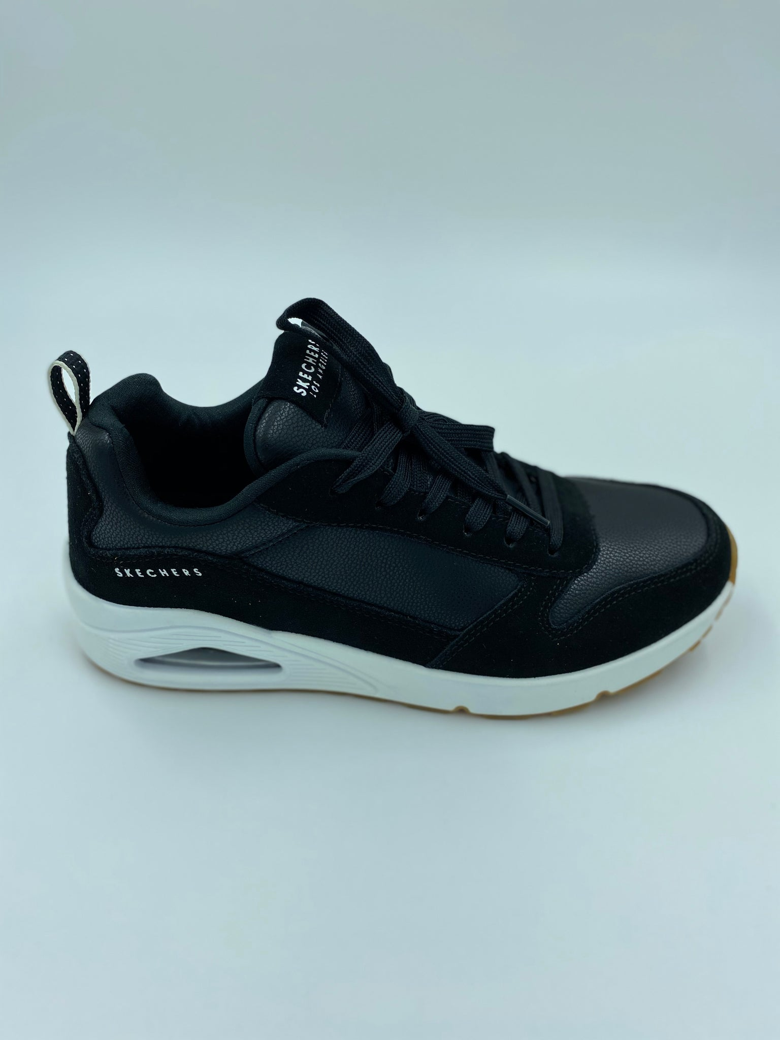 Skechers Herre Sneakers Uno Black