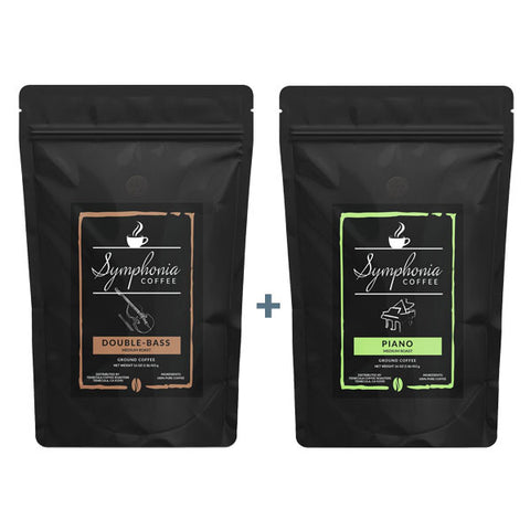 Jazz Duo - 2 1LB Bags of Ground Coffee