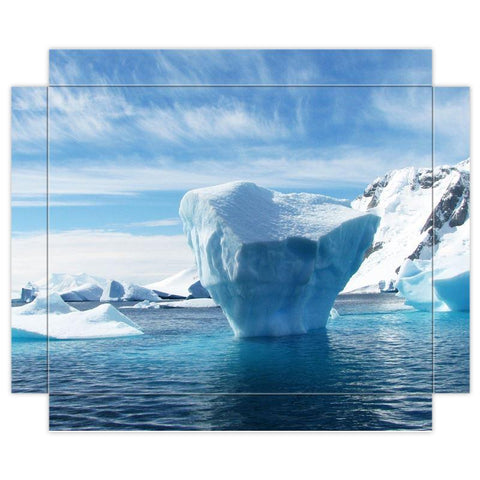"Lonely Iceberg - Canvas Print 8x10"" - The Viking Dock"