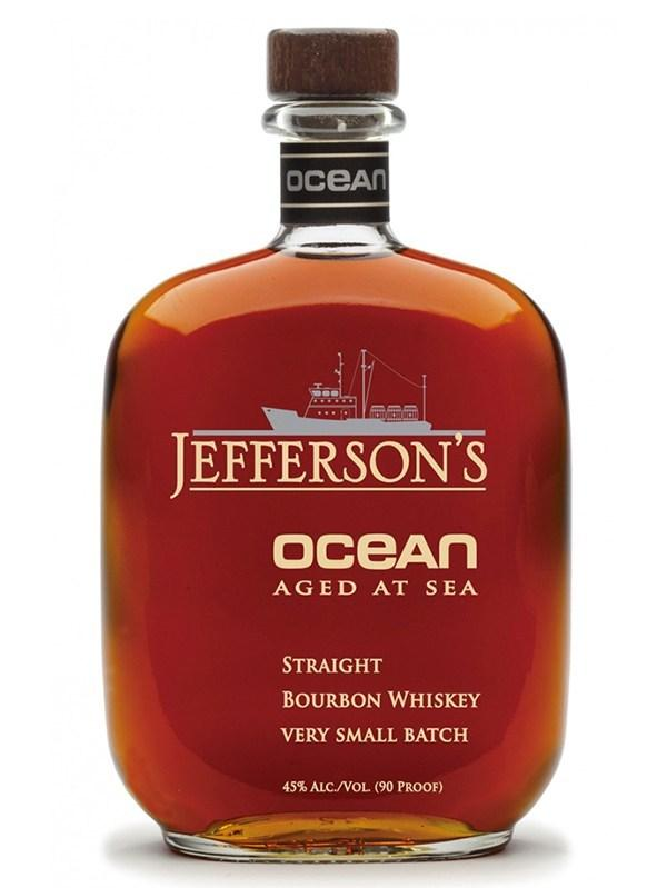 jeffersons ocean aged at sea bourbon whiskey