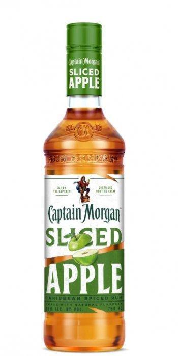 Captain Morgan Sliced Apple Rum 750ml