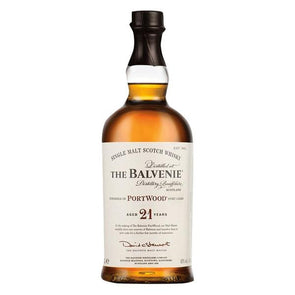 The Balvenie Aged 21 Years Port Wood 750ml