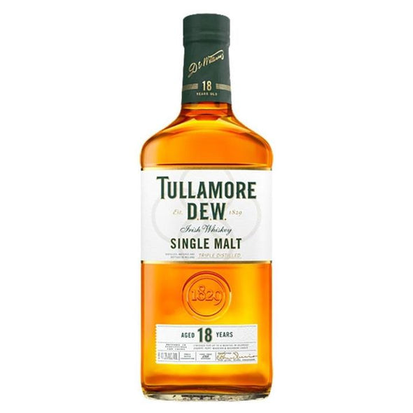 Tullamore Dew Aged 18 Years Single Malt Irish Whiskey 750ml