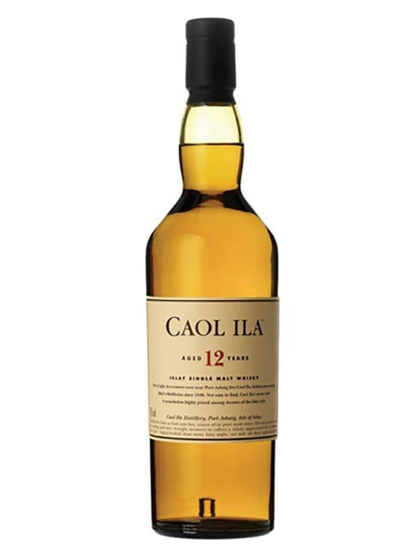 Caol Ila Aged 12 Years Islay Single Malt Scotch Whisky 750ml