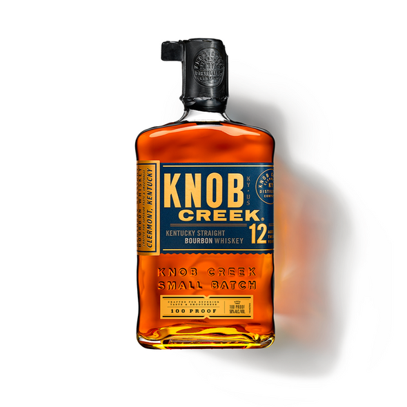 Knob Creek Aged 12 Years Bourbon Whiskey 750ml