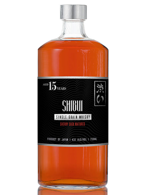 Shibui 15 Years Old Single Grain Sherry Oak Whisky 750ml