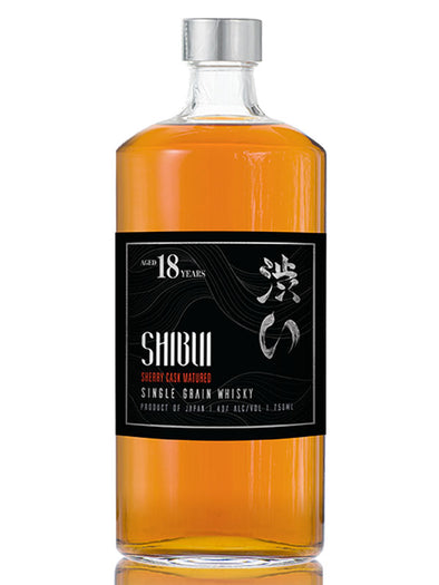 Shibui 18 Years Old Single Grain Whisky 750ml